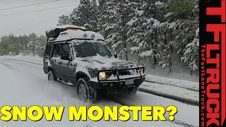 First Snow: How Good is the Land Rover Discovery II In The Winter?