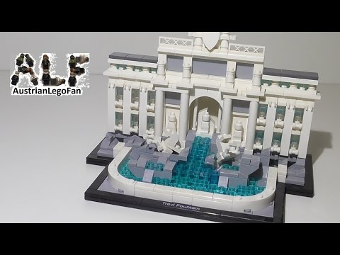 Vidéo LEGO Architecture 21020 : La Fontaine de Trevi (Rome, Italie)