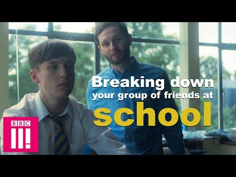Breaking Down Your Group Of Friends At School | Ladhood now on iPlayer