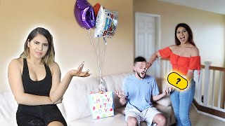 What did she surprise me with for my birthday?!