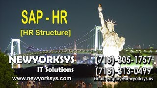 SAP HR Online Training Session Tutorials | HR Structure and Overview