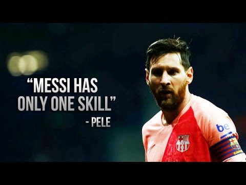 Pele Says Lionel Messi Only Has One Skill • Watch Messi Humiliate Players With His One Skill