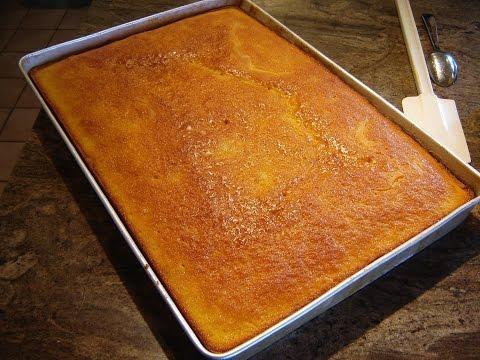 Video YELLOW  SHEET CAKE by DIANE LOVE TO BAKE