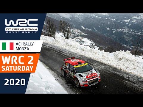 WRC2 第7戦ラリー・モンツァ 土曜日のハイライト動画