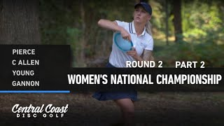 2020 WNC - Round 2 Part 2 - Pierce, Allen, Young, Gannon