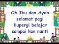 PERGI BELAJAR (LIRIK) - Lagu Anak - Cipt. Ibu Sud - Musik Pompi S.