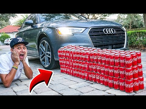 CARRO VS COCA COLA *Experimento*