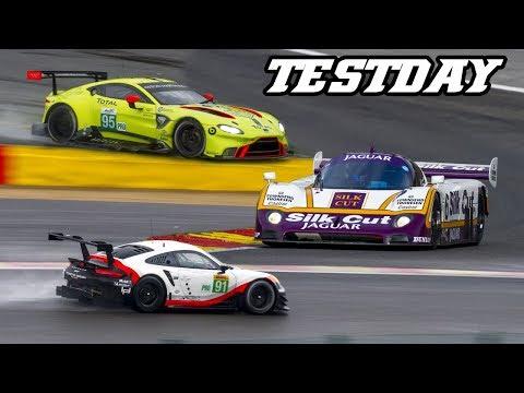 Vantage GTE, 991.2 RSR, XJR-9, 488 GTE, LMP3, Huracan, Spa testdays 2018