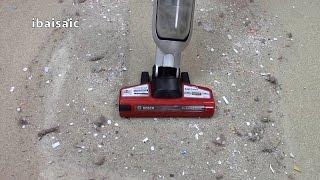 Bosch Athlet Pro Animal Cordless Vacuum Cleaner Demonstration