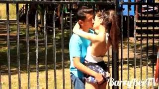 Kissing Prank - Kiss GONE FUNNY!