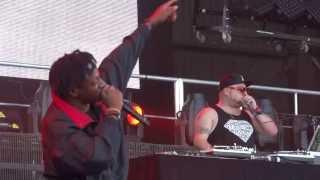 """Joey Bada$$ & Dessy Hinds """"Sit N' Prey"""" - Live Albuquerque"""