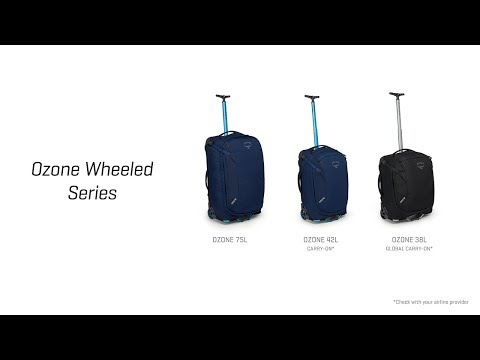 Osprey Packs | Ozone Wheeled Luggage Series | Product Tour