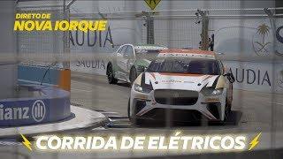 CORRIDA DE RUA: os carros elétricos aceleram mais do que você imagina!