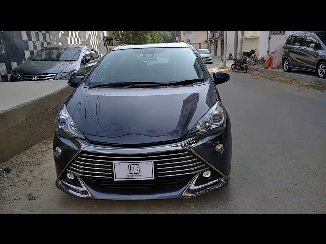Toyota Aqua G LED Soft Leather Selection  2016 for Sale in Karachi