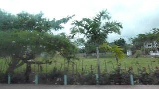 preview picture of video 'Luperón to Puerto Plata via coach December 2010'