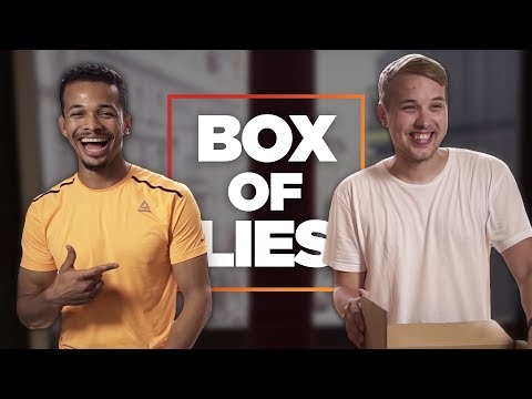 Ben Cristovao hrozně lže (BOX OF LIES)