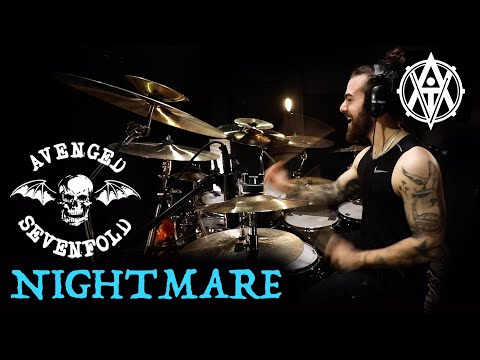 DrumsByDavid   Avenged Sevenfold - Nightmare [Drum Cover]