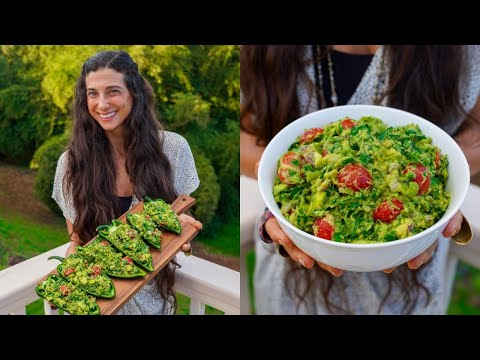 Best Chunky & Spicy Guacamole! 🥑 5 Minute Recipe + Lazy Dinner & Snack Ideas…
