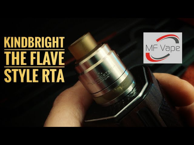 Kindbright The Flave Style RTA - Introducing Coily Tool for coil assembly
