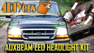 Review: Auxbeam F-S2 LED Headlight Kit