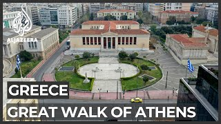 Greece COVID-19 Fight Prompts Athens To Free Public Space Of Cars