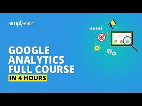 Google Analytics Full Course [2020] | Google Analytics Tutorial For ...