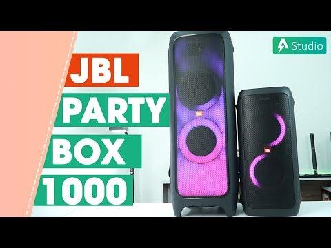 Đánh giá JBL PartyBox 1000 - Chiếc loa siêu to khổng lồ