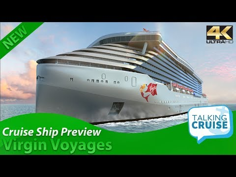 Virgin Voyages – First Preview of Virgin Brand Cruise Ship