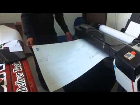 Plotter HP Designjet T120 Baru by Akiradata Indonesia # 081310422355