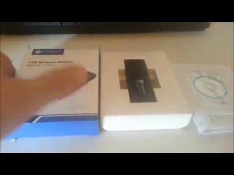 Best Cheap Windows 10 Dual Band USB 3.0 AC Wireless Adapter: Review: Etekcity AC1200