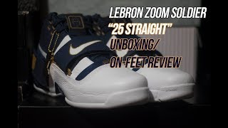 Lebron Zoom Soldier Art of a Champion '25 Straight' | Solepost Unboxings