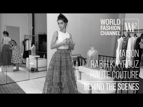 Maison Rabih Kayrouz Haute Couture I Behind the scenes