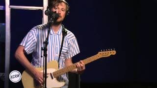 "Django Django performing ""Reflections"" Live on KCRW"