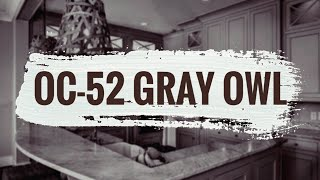 Gray Paint Colors | Gray Owl Benjamin Moore