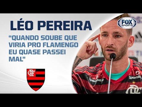 LÉO PEREIRA É DO FLAMENGO! Veja apresentação do novo zagueiro do Rubro-negro carioca