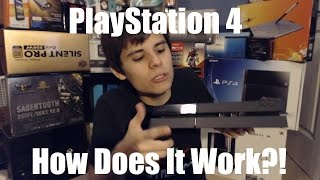 PS4 - Power and Eject Buttons
