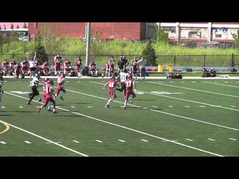 Brandon Tatsu #21 - Essex Ravens vs Niagara Spears May 24, 2014