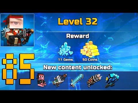 Pixel Gun 3D - Gameplay Walkthrough Part 85 - Level 32
