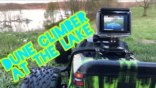 Adventure Dune Climber 2 AT THE LAKE with FPV