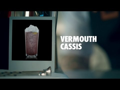 Video VERMOUTH CASSIS DRINK RECIPE - HOW TO MIX
