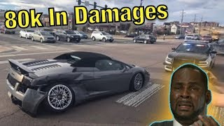 Super Cars Getting Hit By Morons! (Instagram Car Fails)