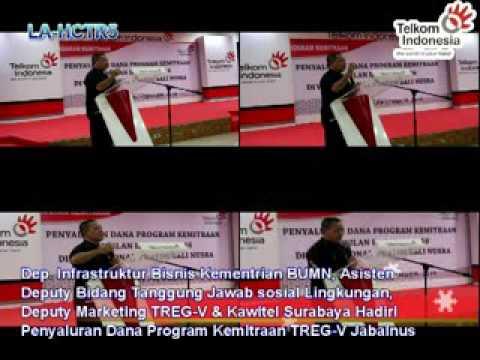 Telkom Jatim Balnus Kucurkan Dana CSR TW-III/2016