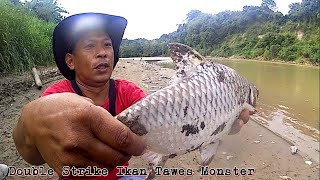 Double Strike Ikan Tawes Monster