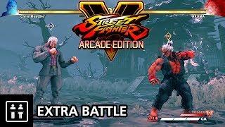 Street Fighter V Arcade Edition - Extra Battle (Shin Akuma Vs Urien)