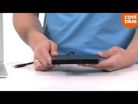 LG GP50NB40 Externe Dual Layer DVD Brander en Speler productvideo (NL/BE)