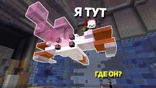 МАНЬЯК ЗАПРЫГНУЛ НА САМОЛЁТ! КАК ОН ЭТО СДЕЛАЛ? - (Minecraft Murder Mystery)