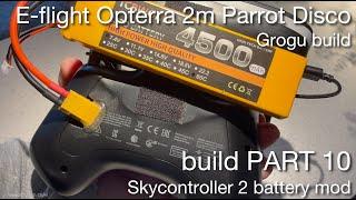 Grogu my E-flite Opterra 2m | Parrot Disco HYBRID Project - FPV long range drone build ~ PART 10