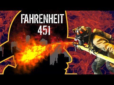 NÃO LEIA ESSE LIVRO, QUEIME | Fahrenheit 451 (Ray Bradbury) RESENHA