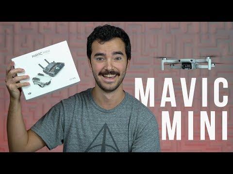 Mavic Mini - Unboxing y Primer Vuelo