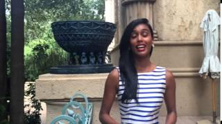 Shane Naidoo Miss South Africa 2015 finalist at pre judging
